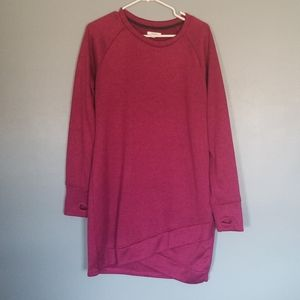 Sweater dress soft pink large maurices warm